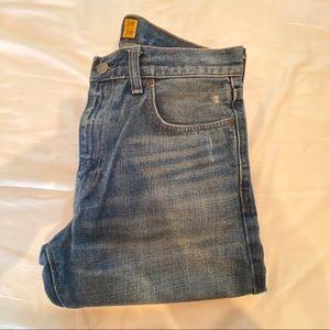J. Crew. 770 Worn Wash Jeans